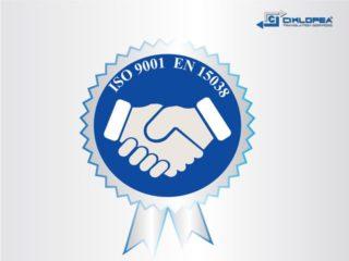 Успешно оцењивање по стандардима ИСО 9001 и ЕН 15038