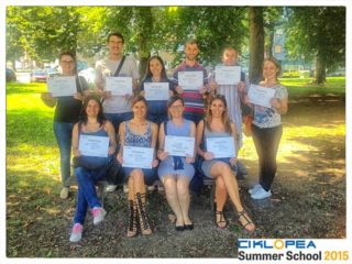 Ciklopea Summer School 2015 – Successful Ending and New Beginnings | Ciklopea