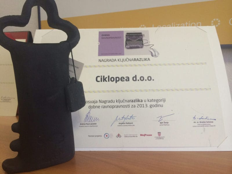 Key Difference Award Ceremony | News | Blog | Ciklopea