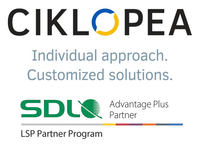 Ciklopea postala SDL LSP partner