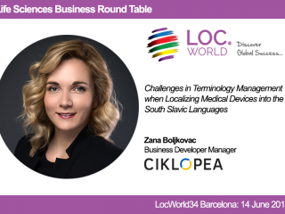 Ciklopea @ 2017 LocWorld34 Conference in Barcelona