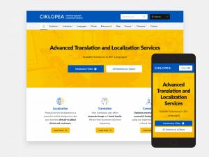 Ciklopeino novo spletno mesto je zdaj objavljeno | Blog | Ciklopea