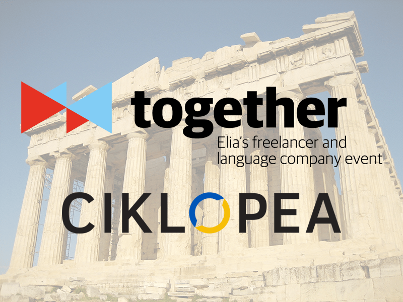 Ciklopea Joins Elia Together 2018 Committee