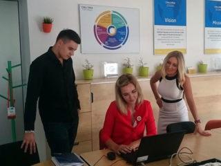 Tin Režek, Zana Boljkovac and Sara Demiri