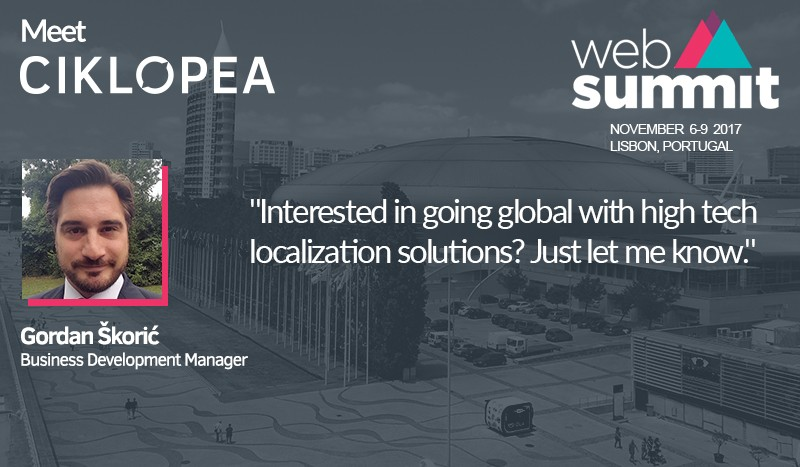 Meet Ciklopea at Web Summit 2017 in Lisbon