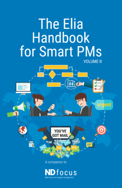 The Elia Handbook for Smart PMs - project manager