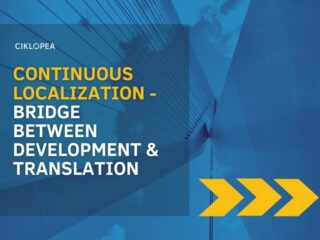 Continuous Localization – a bridge between development and translation